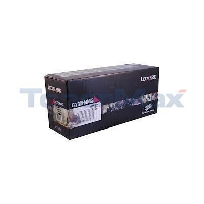 LEXMARK C780 PRINT CARTRIDGE MAGENTA RP TAA 10K